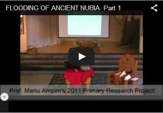 Flooding of Ancient Nubia Part 1